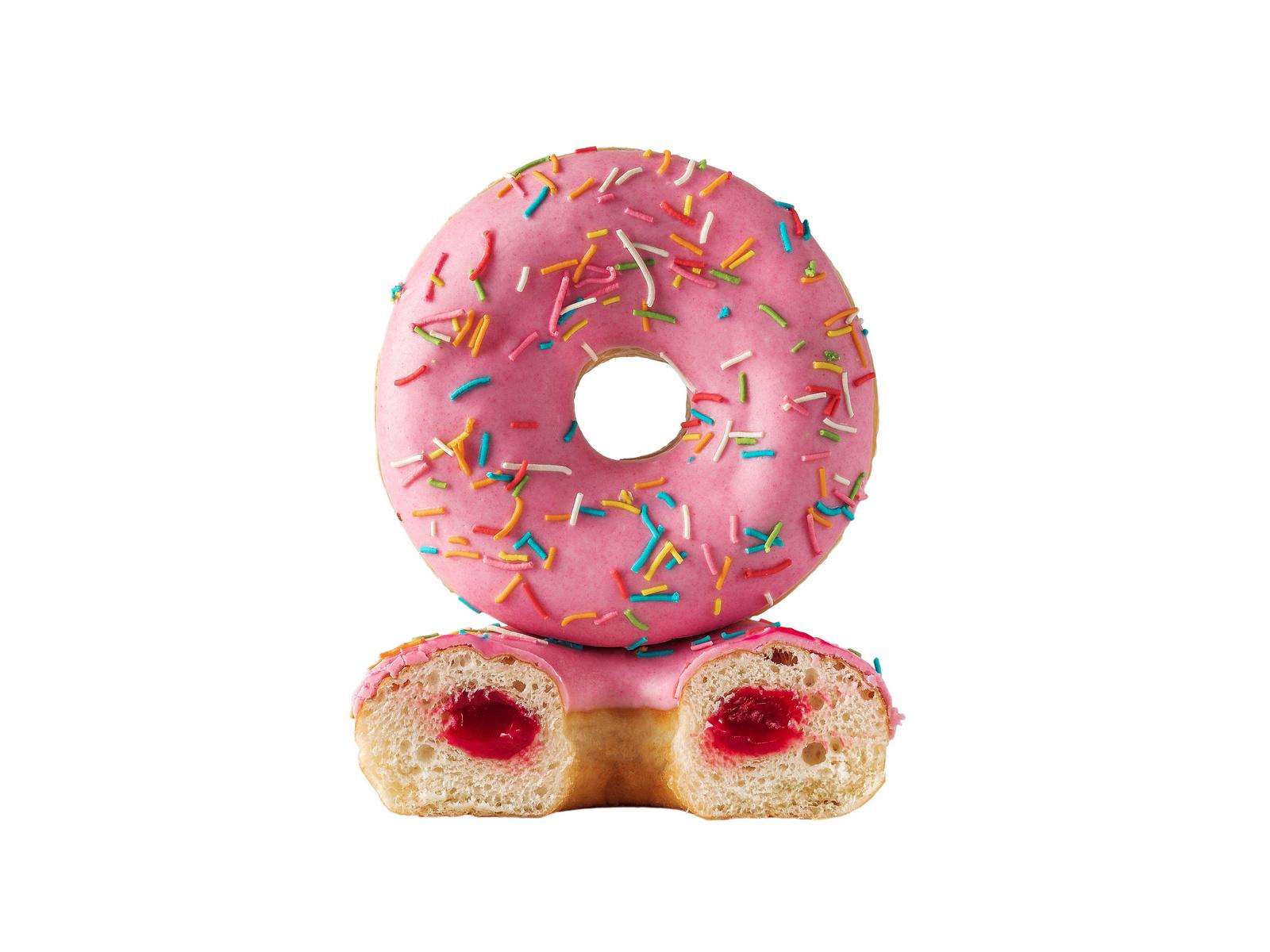 Вишневый пончик