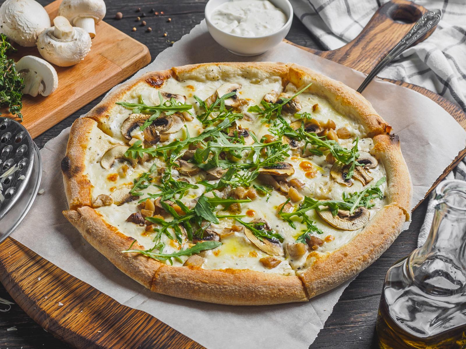 Пиццетта Грибная