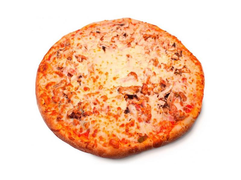 Пицца Мясная с лесными грибами