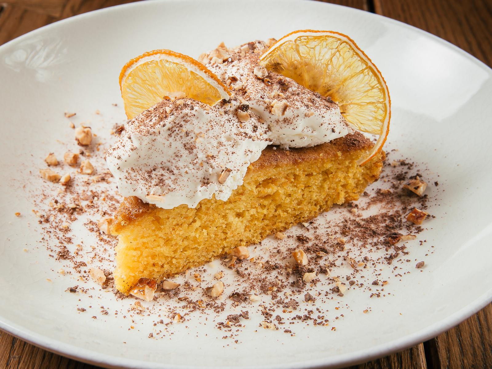 Морковный торт с кремом маскарпоне