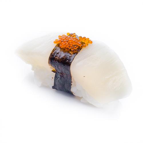 Суши хотате морской гребешок