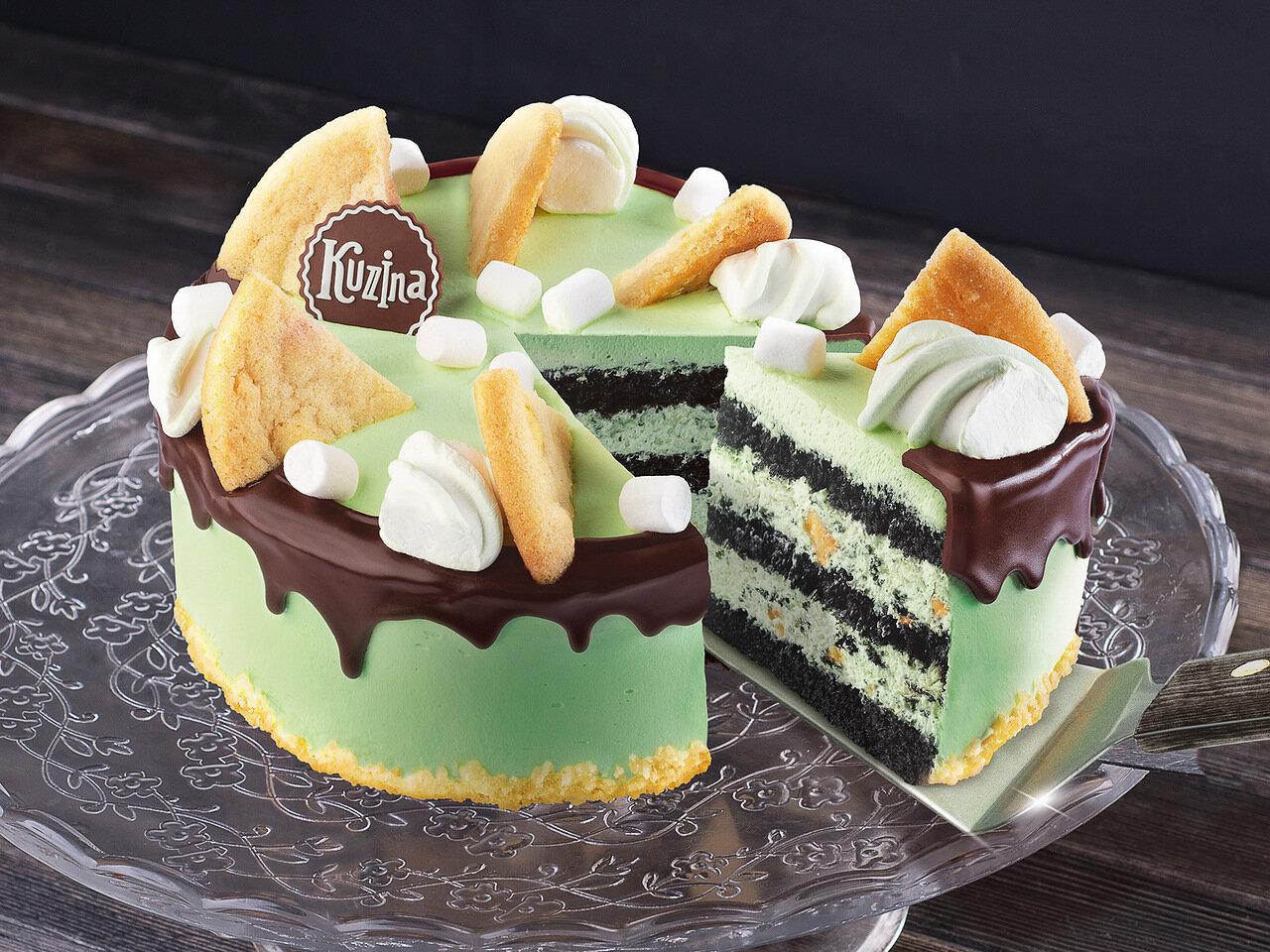 Торт Мятный шоколад