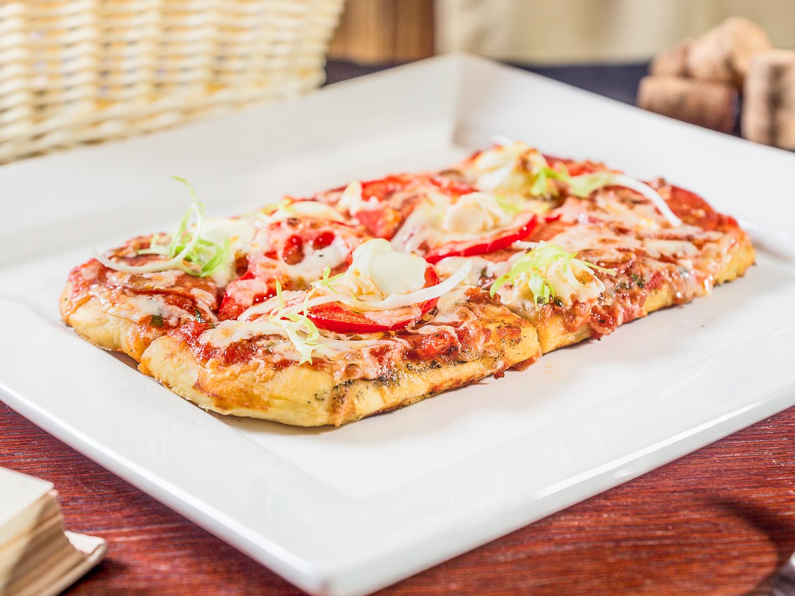 Пиццетта с пепперони