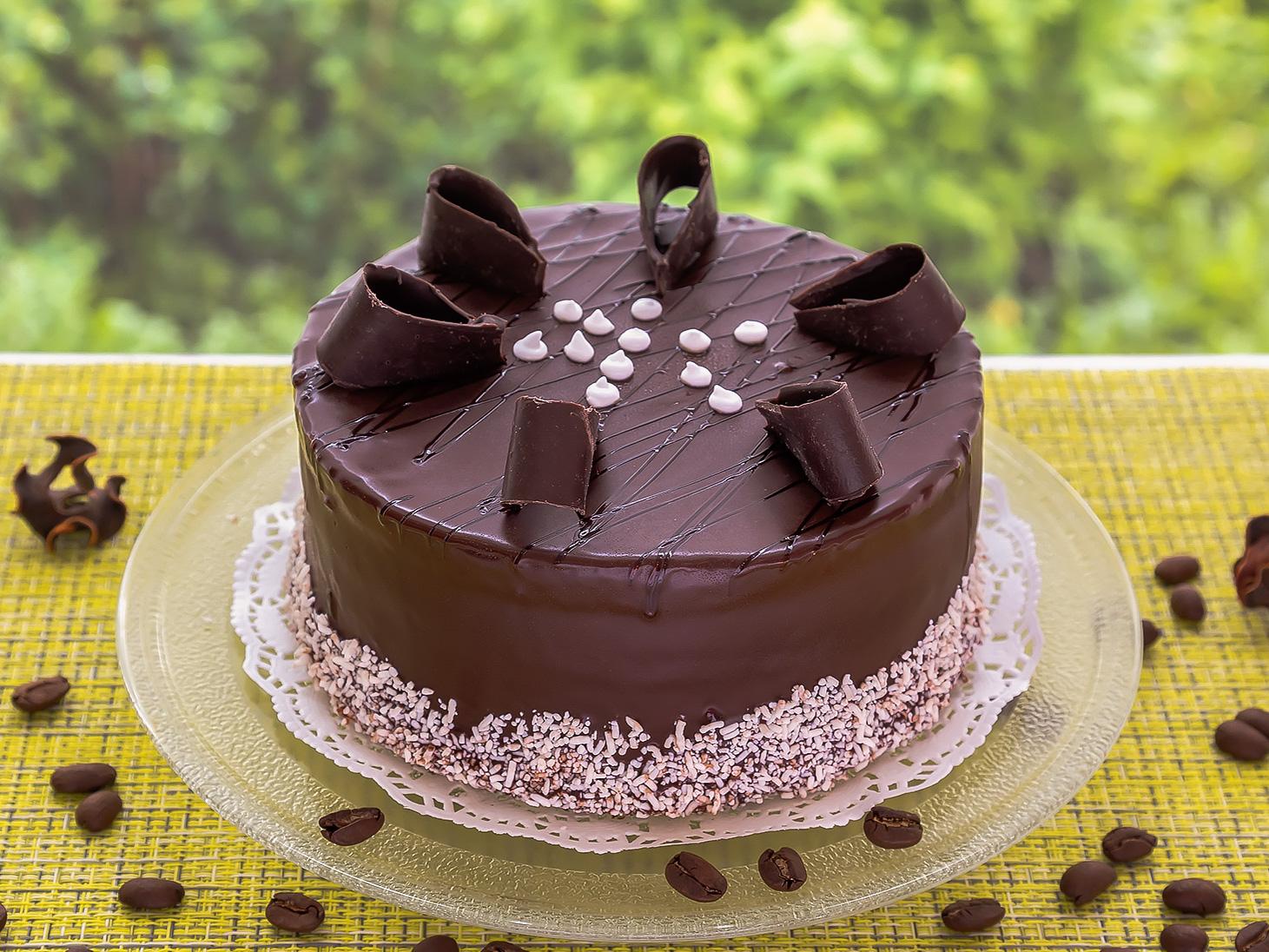 Торт Двойной шоколад