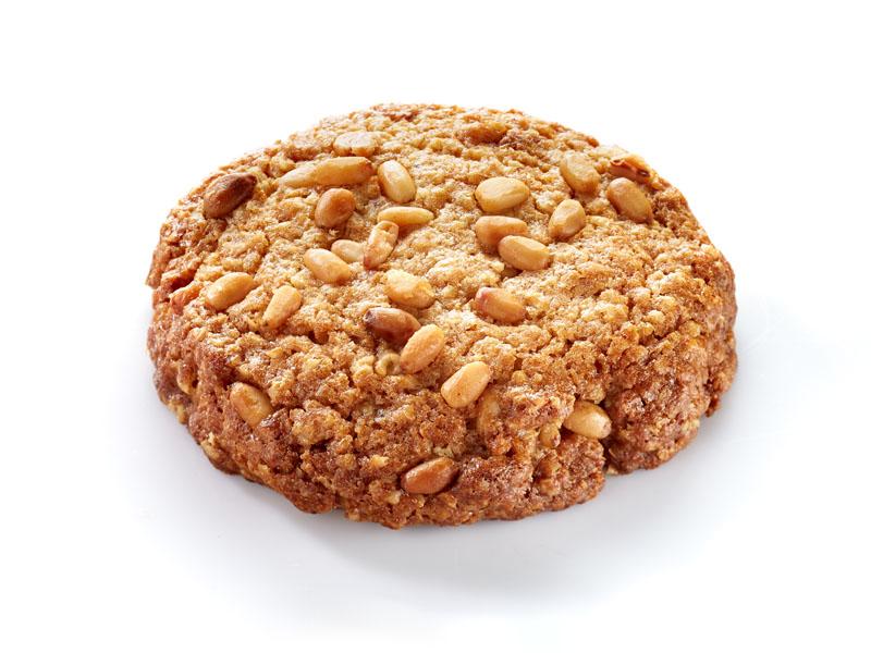 Печенье овсяное с кедровым орехом