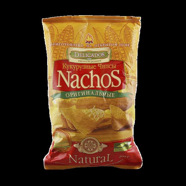 Чипсы кукурузные Nachos оригинальные, Delicados