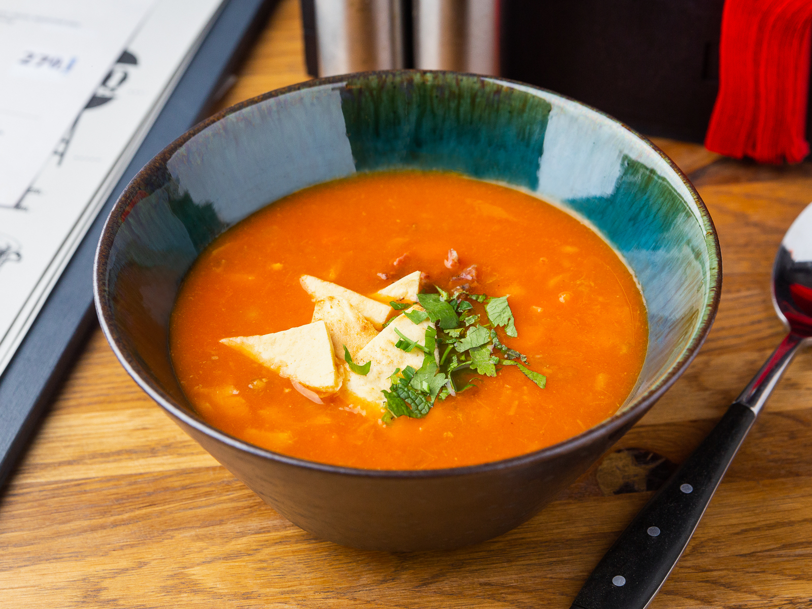 Суп Томатный клэм-чаудер