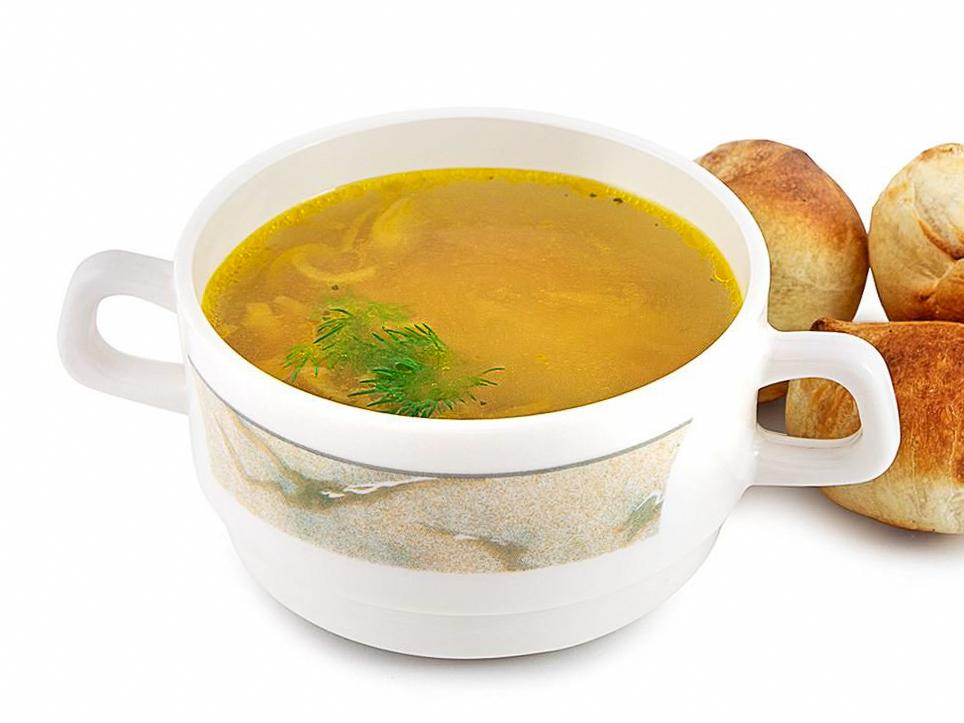Суп куриный c лапшой
