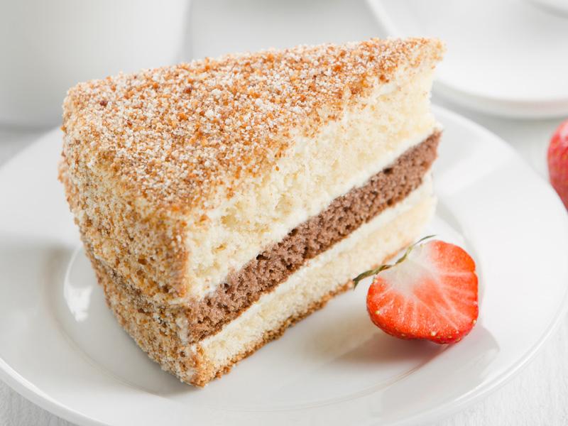 Торт Сметанник порция