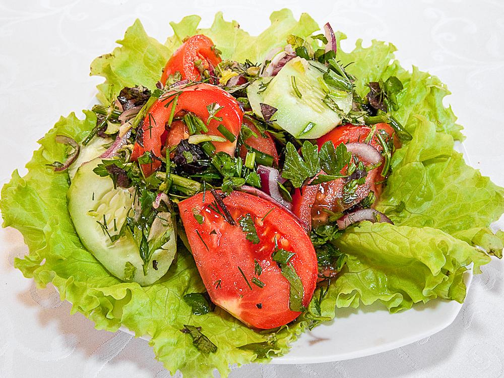 Салат по-домашнему