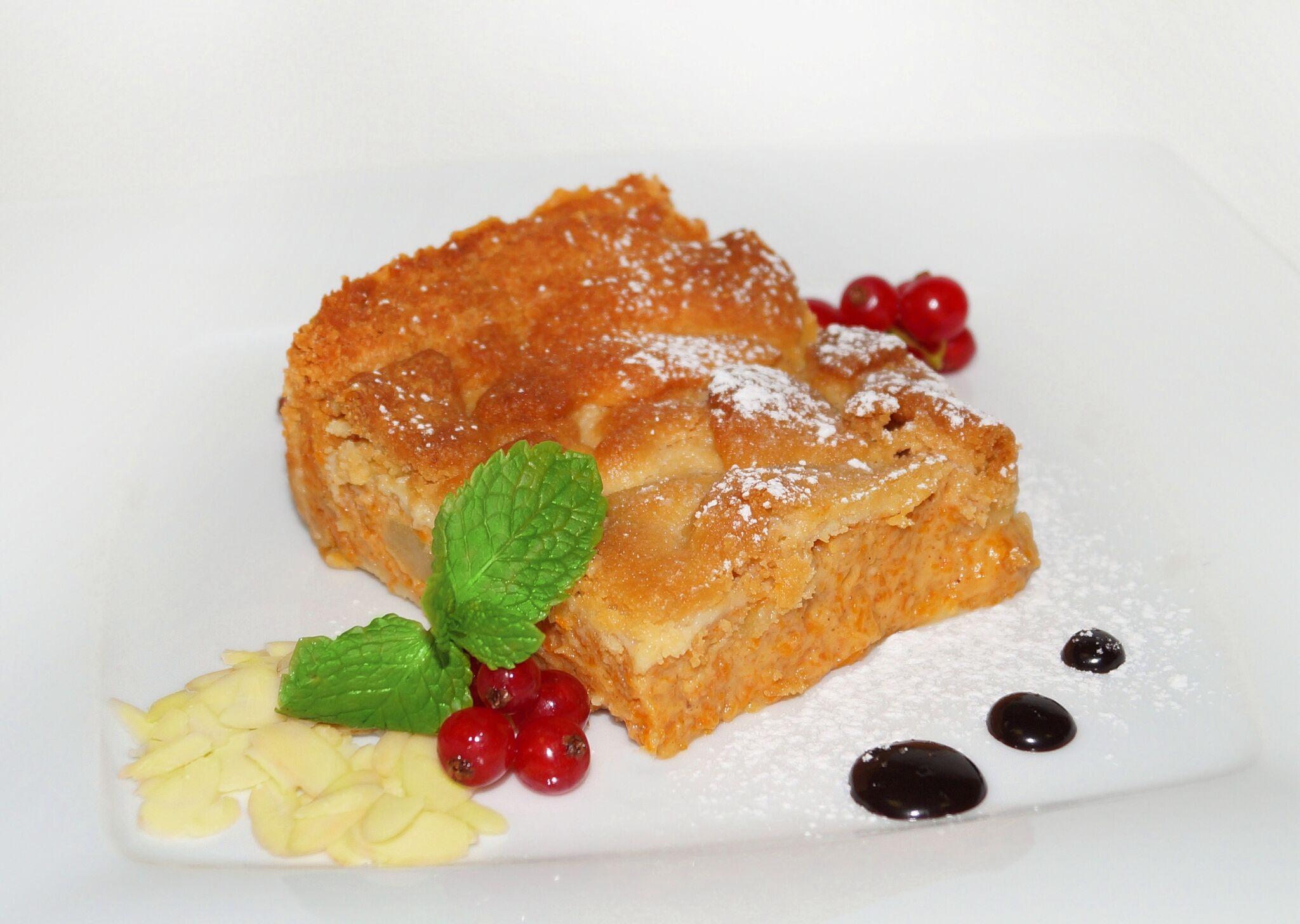 Домашний грушево-тыквенный пирог