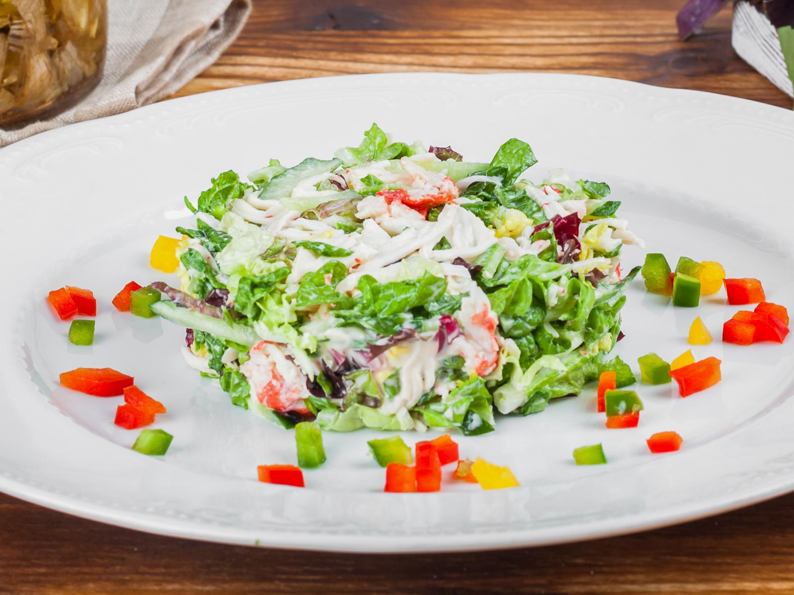 Крабовый салат по-итальянски