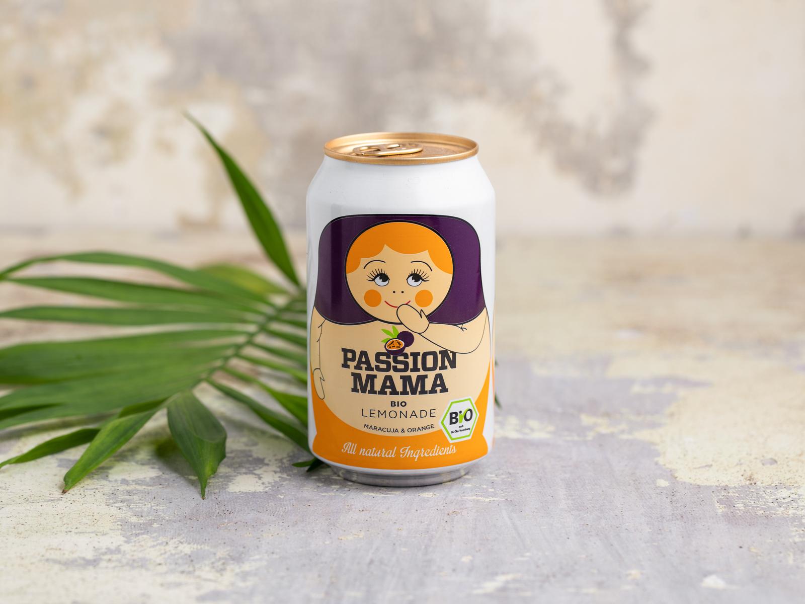 Лимонад Herbal Moscow Passion Mama bio
