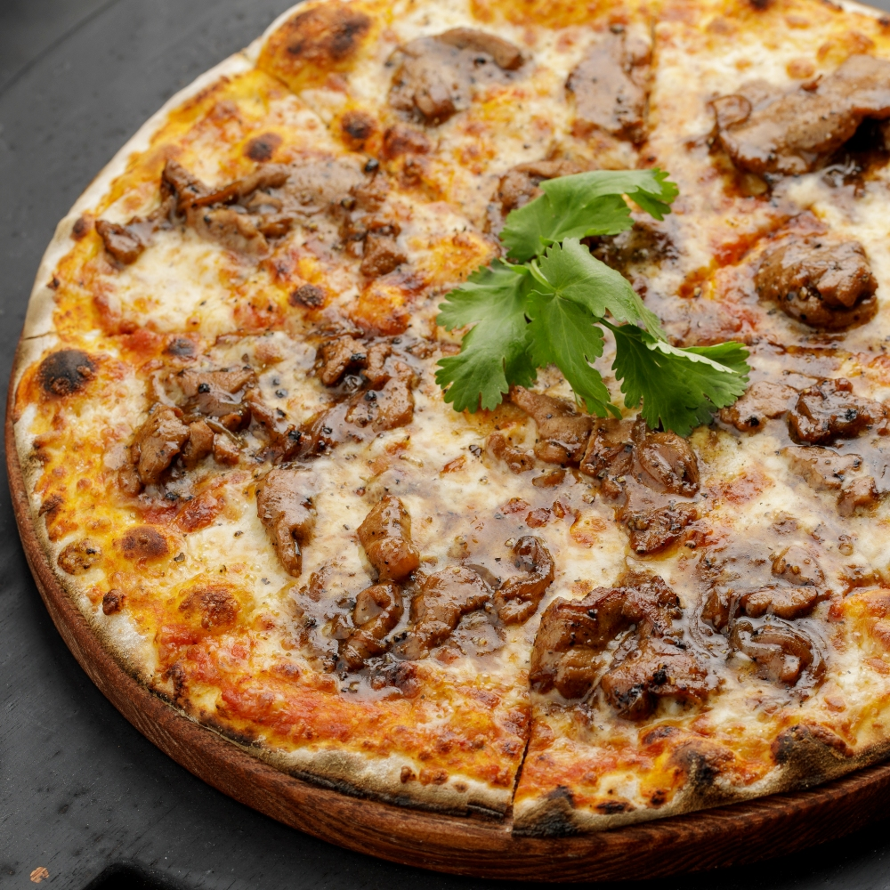Пицца Телятина блэк пеппер