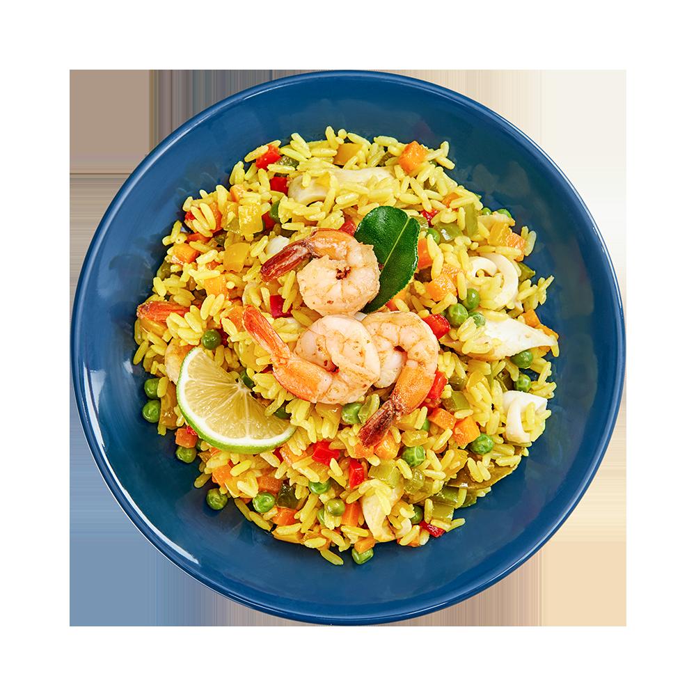 Рис с морепродуктами по-тайски от Азбуки Вкуса