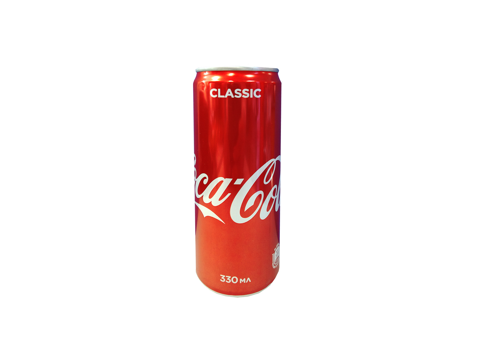 Coca-Cola в жестяной банке