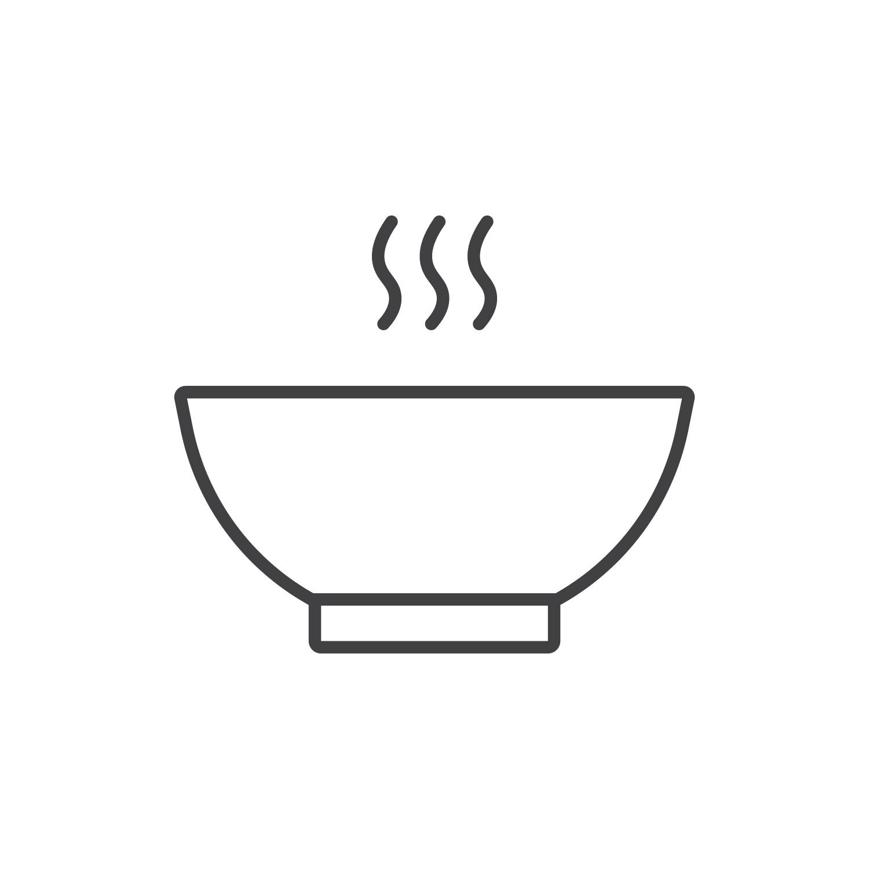 Кокосовый суп с кальмарами Ланч