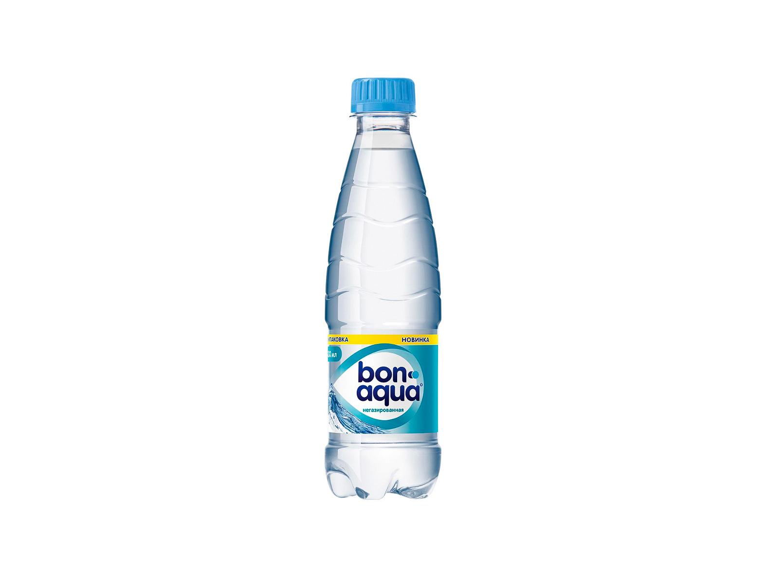 Вода BonAqua без газа