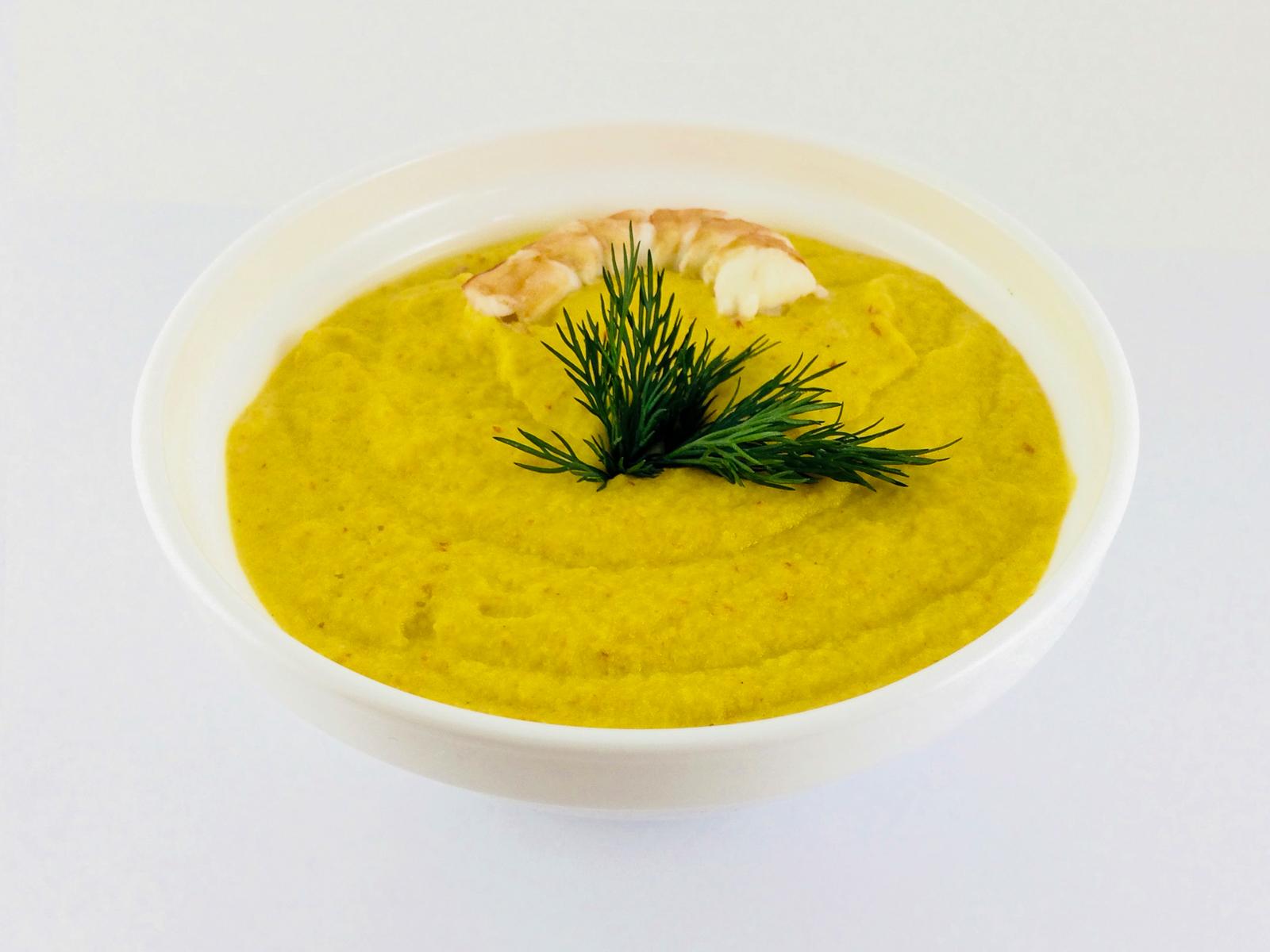Крем-суп с креветкой