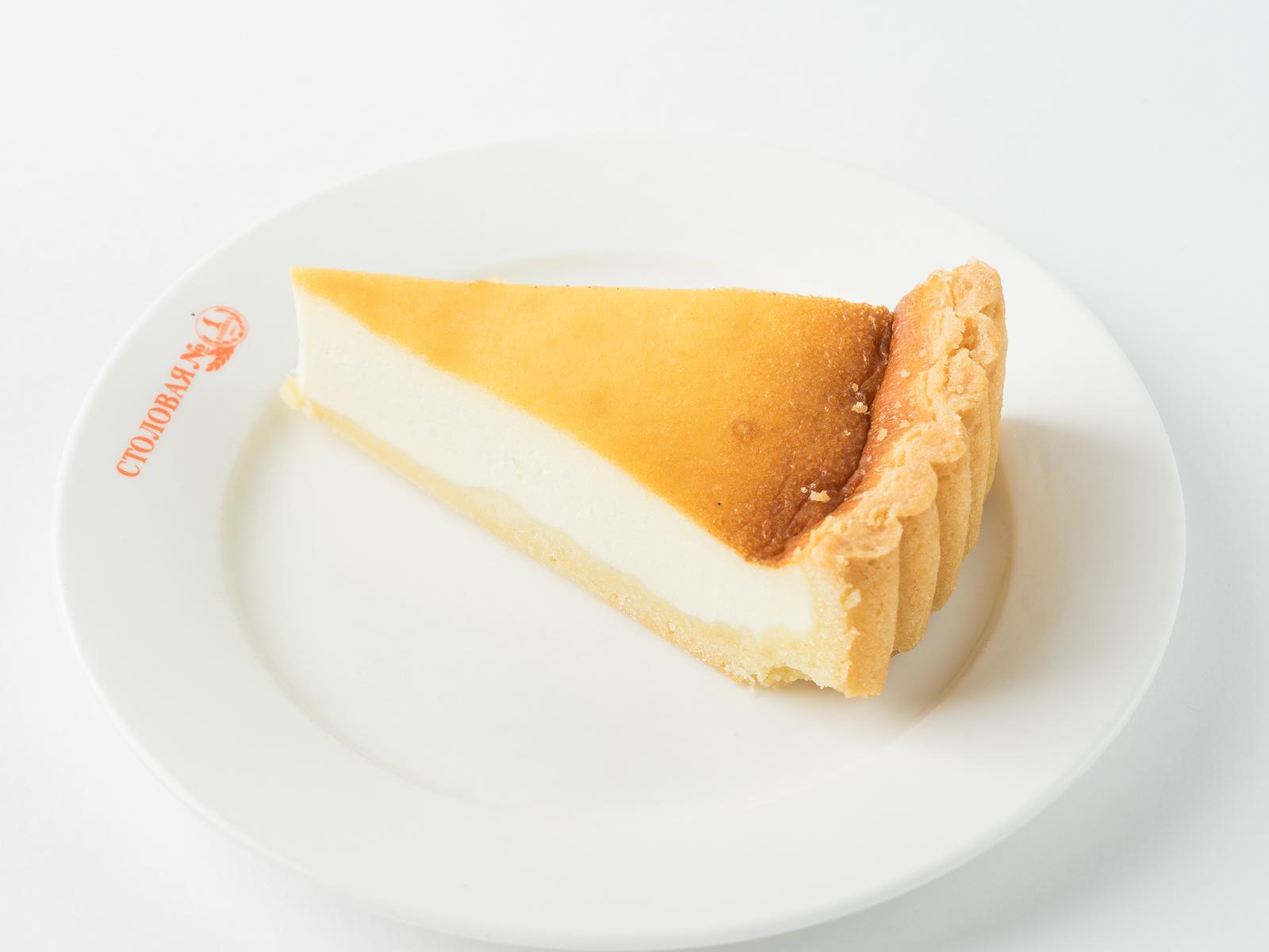 Пирог открытый с творогом