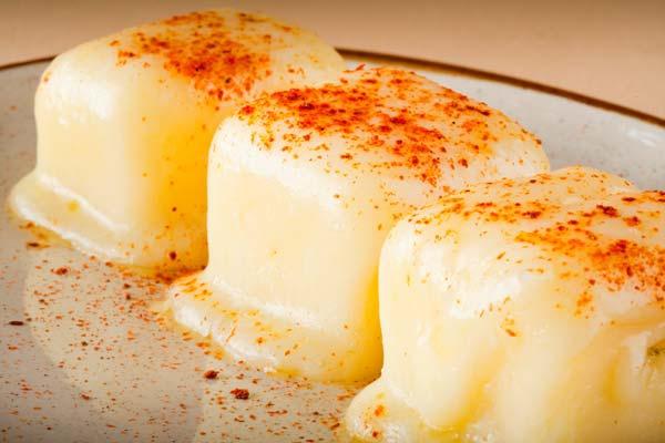 Сыр на углях