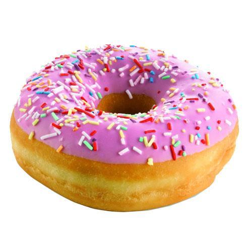 Клубничный пончик