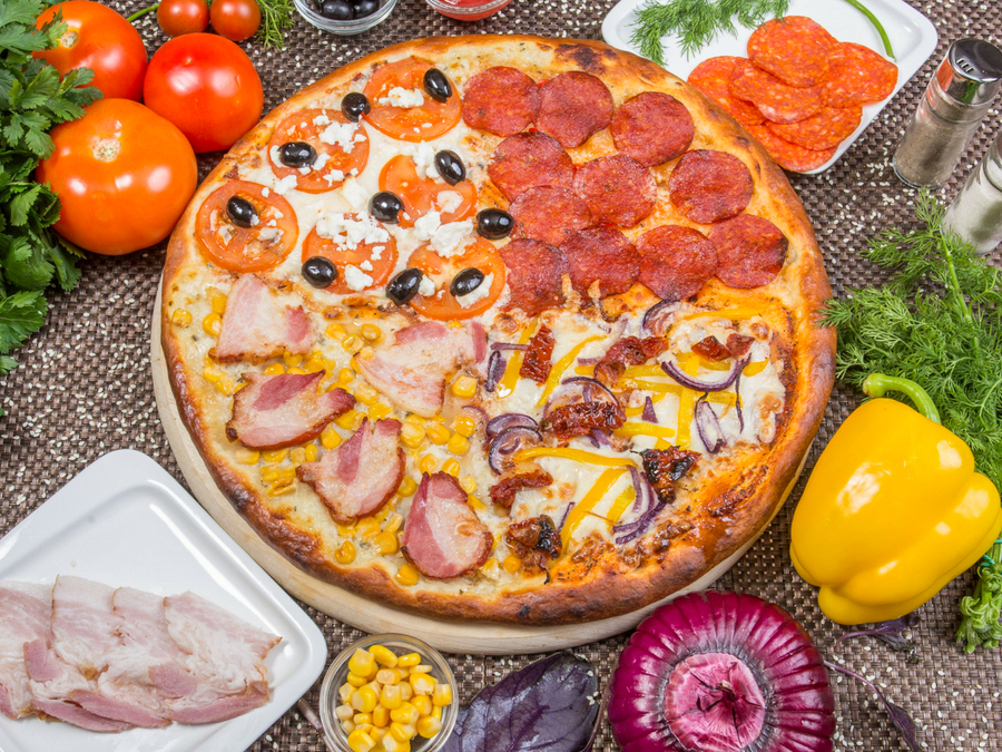 Пицца Перец