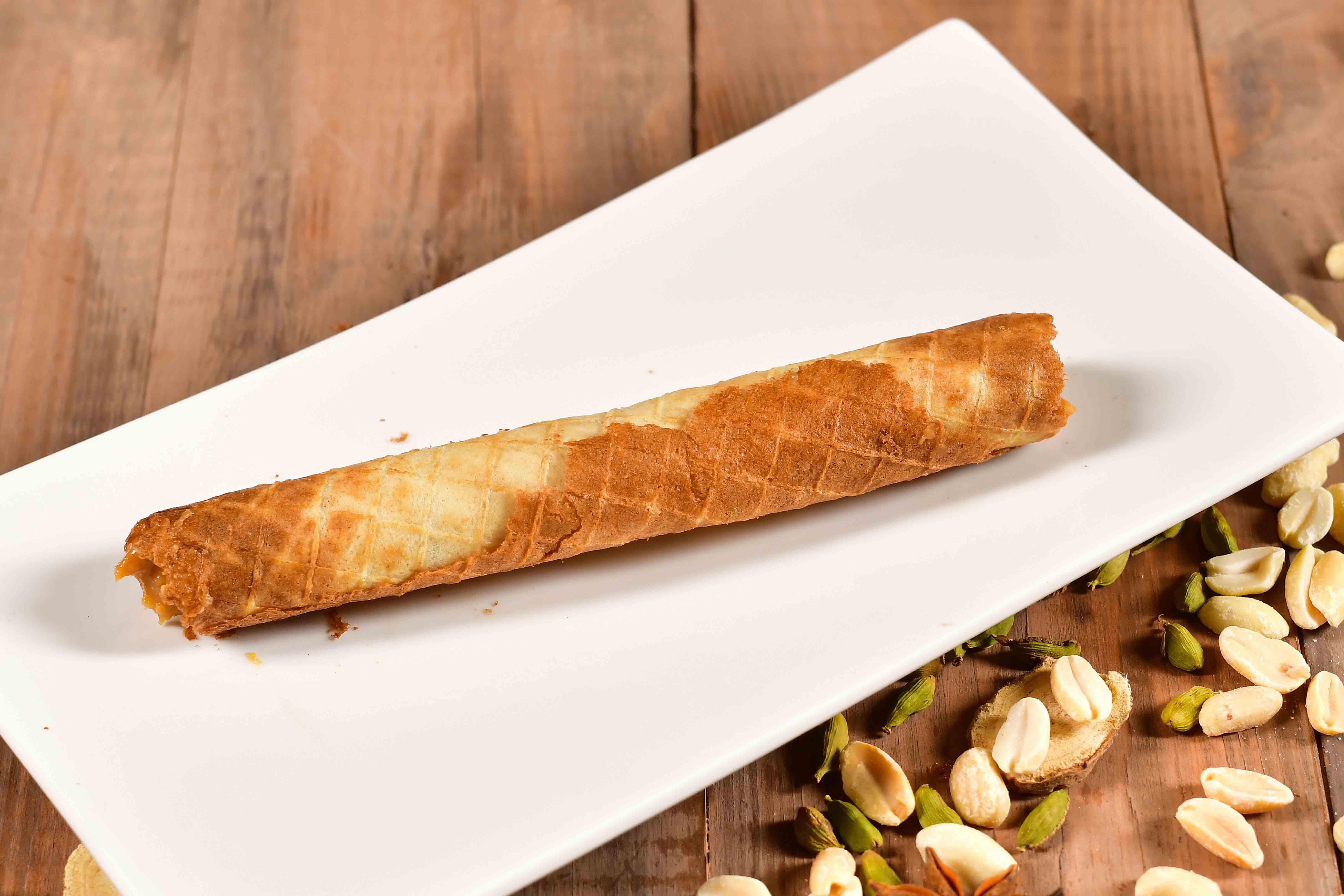 Трубочка с ореховой начинкой