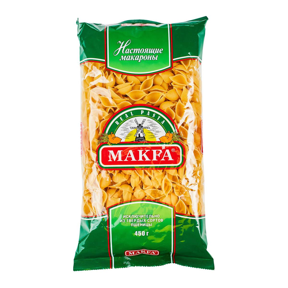 Makfa ракушки