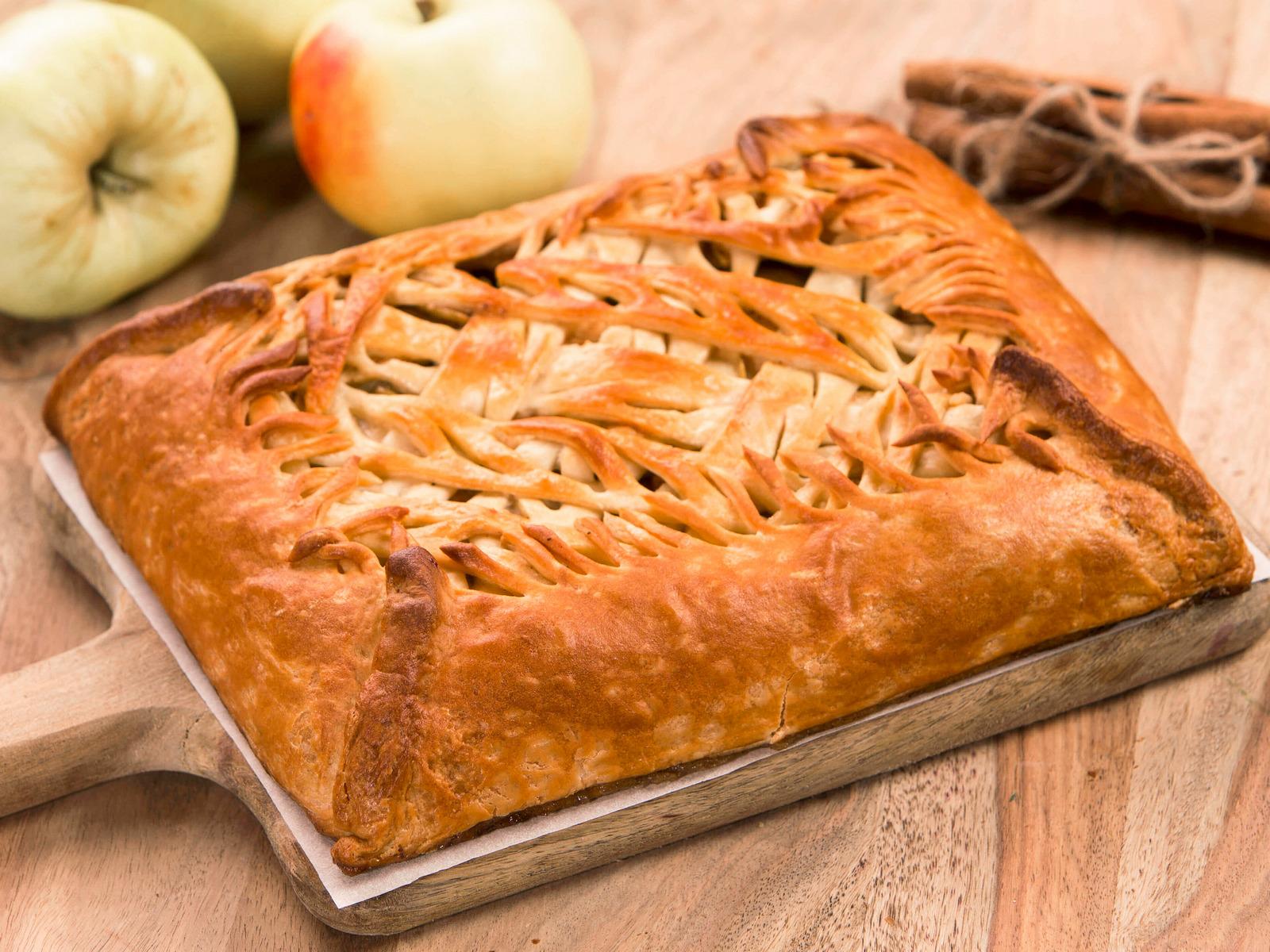 Пирог Яблоко с корицей