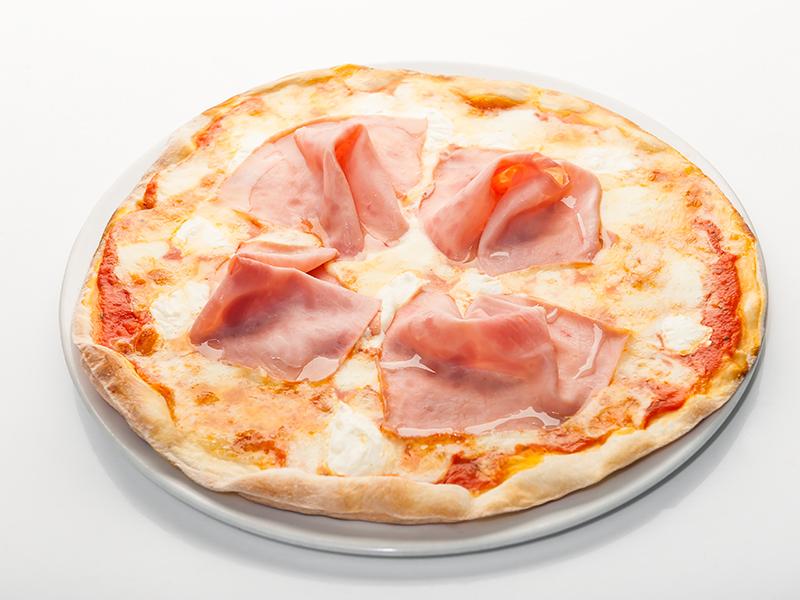 Пицца Prosciutto, stracchino e bufala