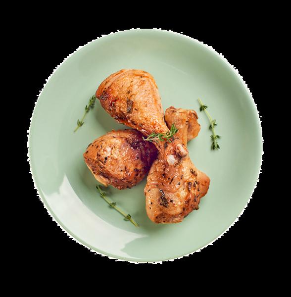 Голень куриная в пикантном маринаде гриль