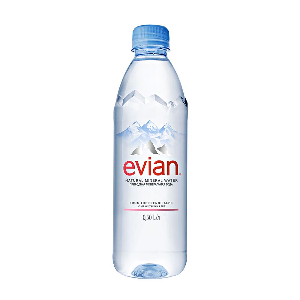 Вода минеральная Evian природная негазированная
