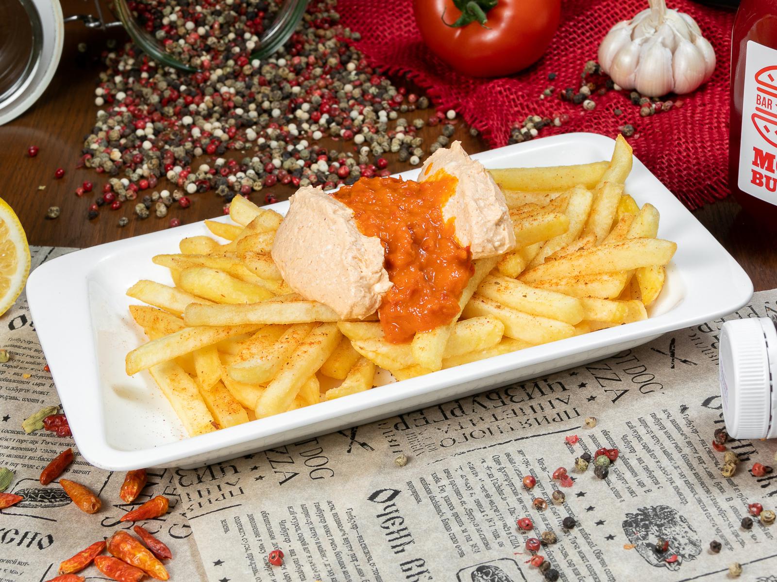 Картофель фри по-сербски