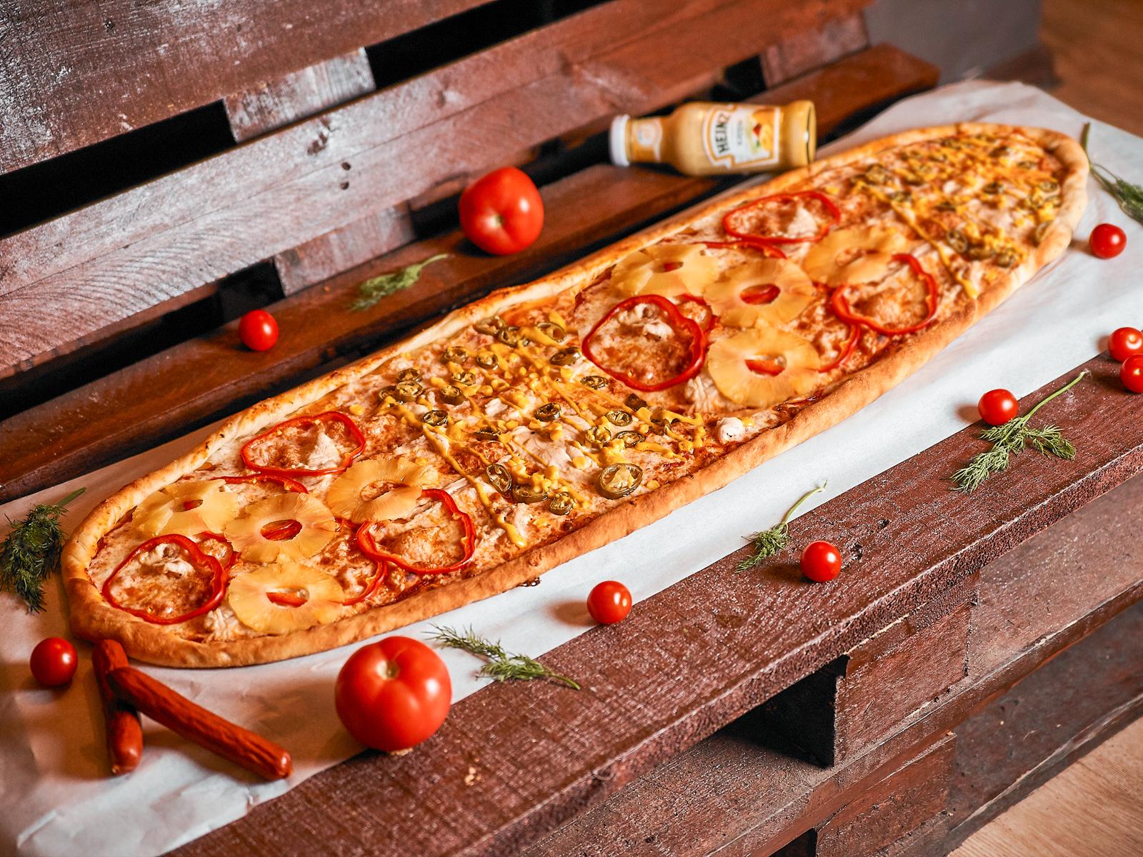 Пицца Халяль метровая