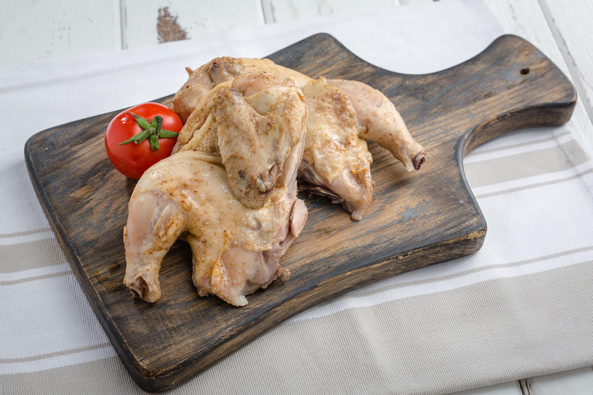 Цыпленок тапака на пару