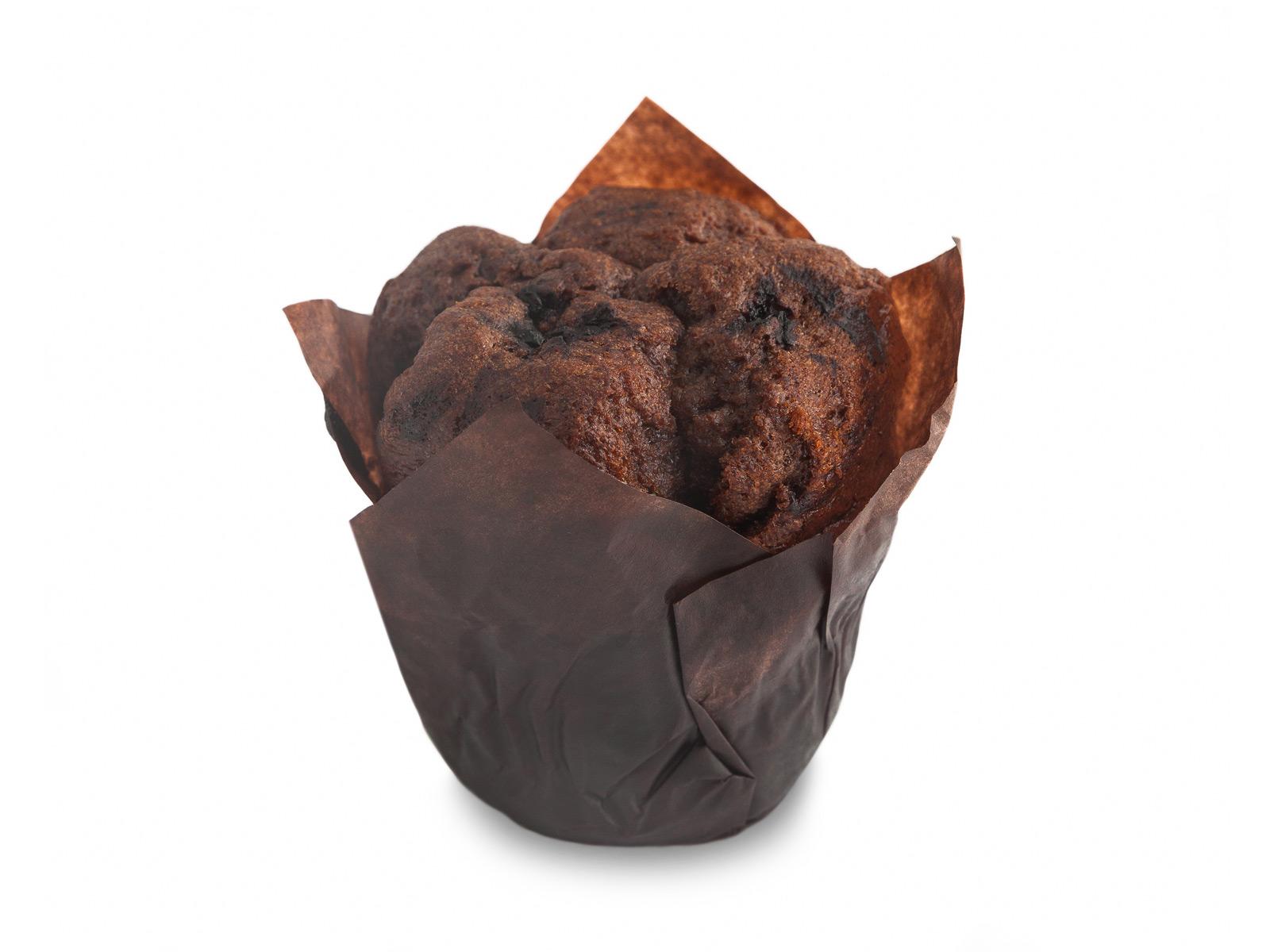 Маффин шоколадный с черникой