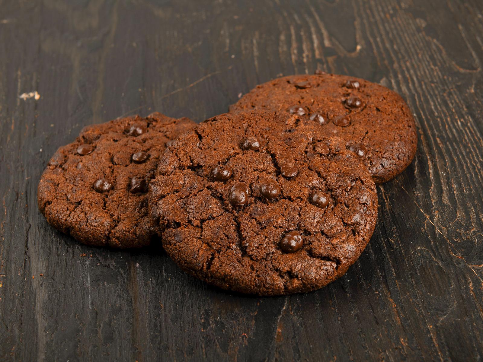 Кукис с темным шоколадом