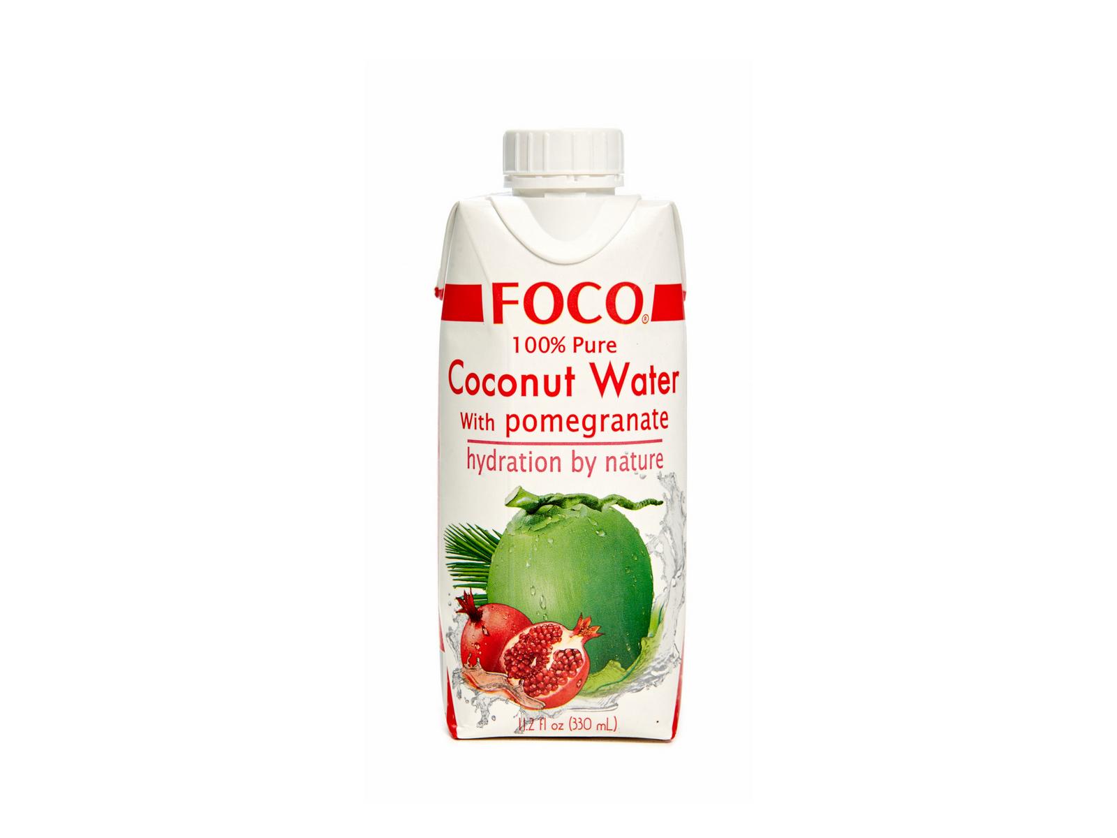 Натуральная кокосовая вода с соком