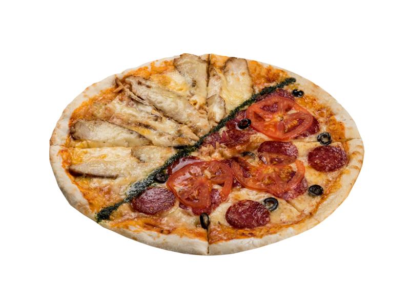 Пицца Два вкуса