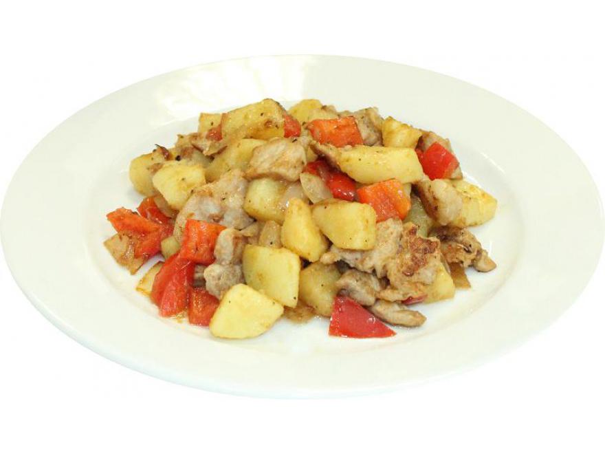 Картошечка со свининой
