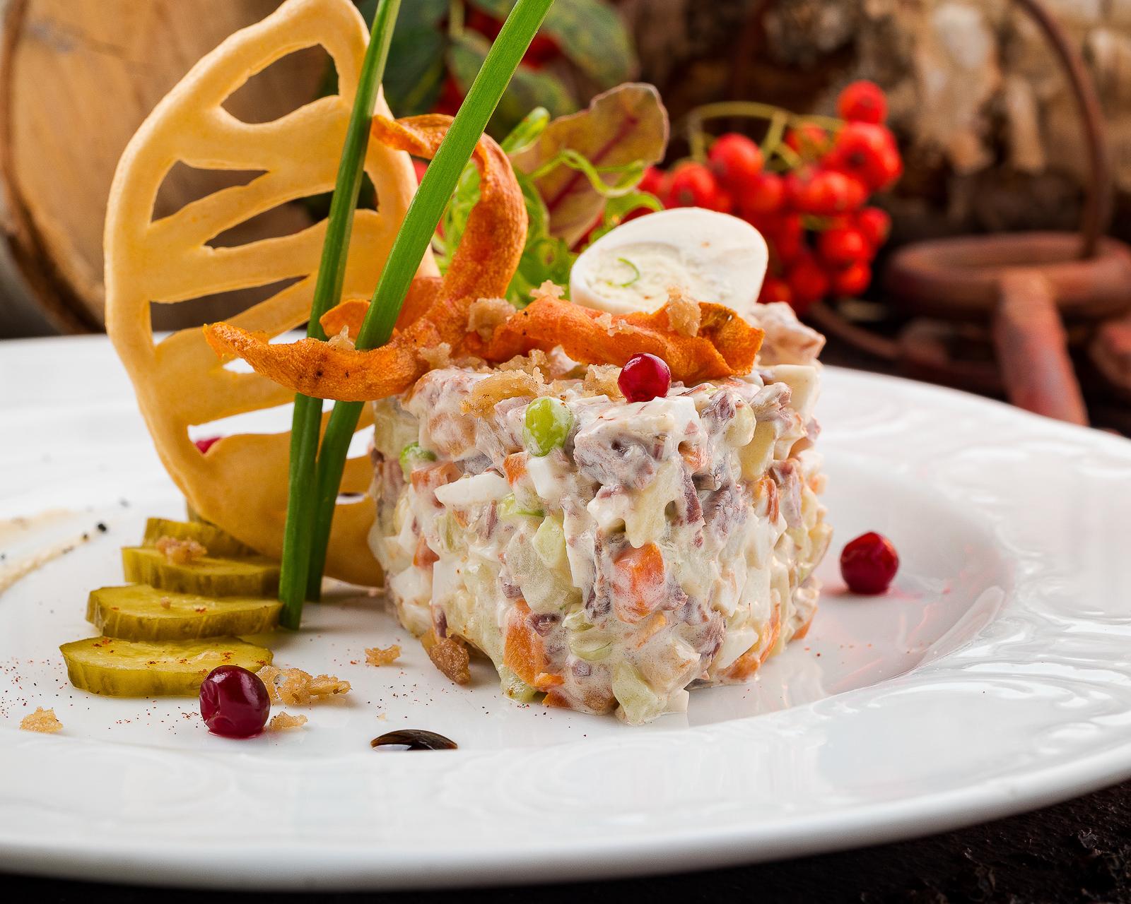 Столичный салат от француза Оливье
