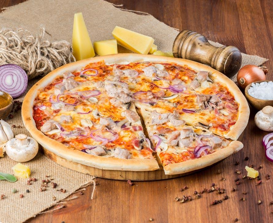 Пицца Деревенская классическая
