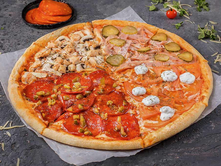 Пицца Четыре туза