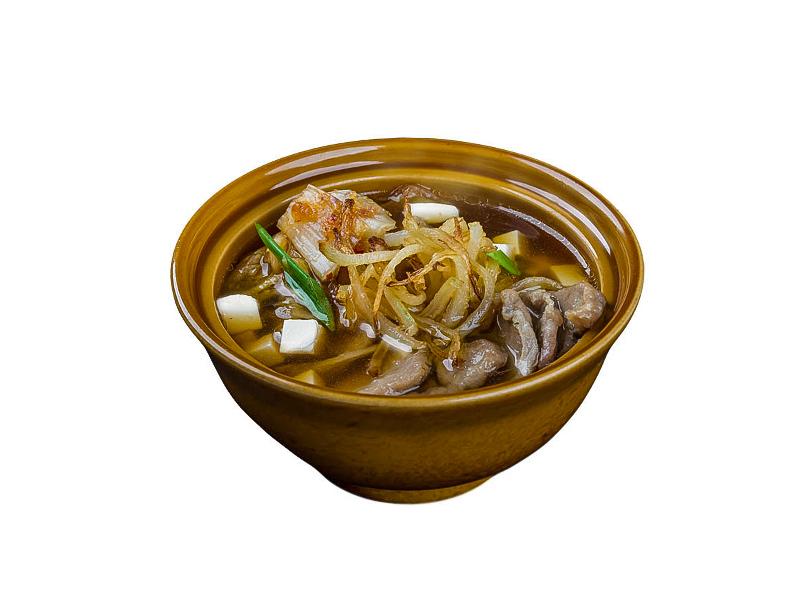 Суп со свининой Кимчи