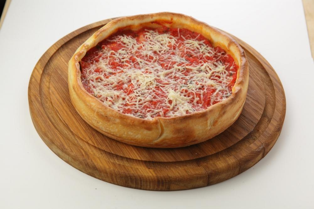 Чикагская пицца с Тунцом