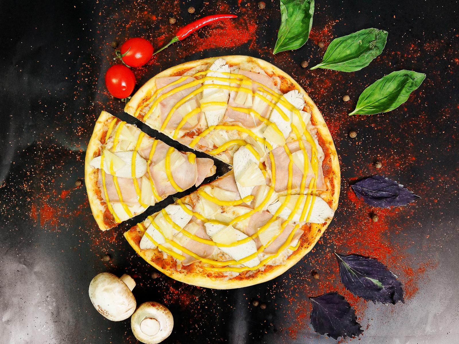 Пицца Гавайская карри