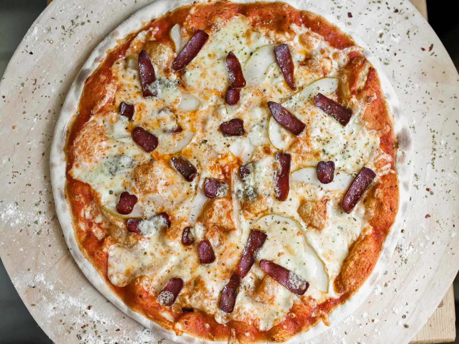 Пицца Говядина и груша