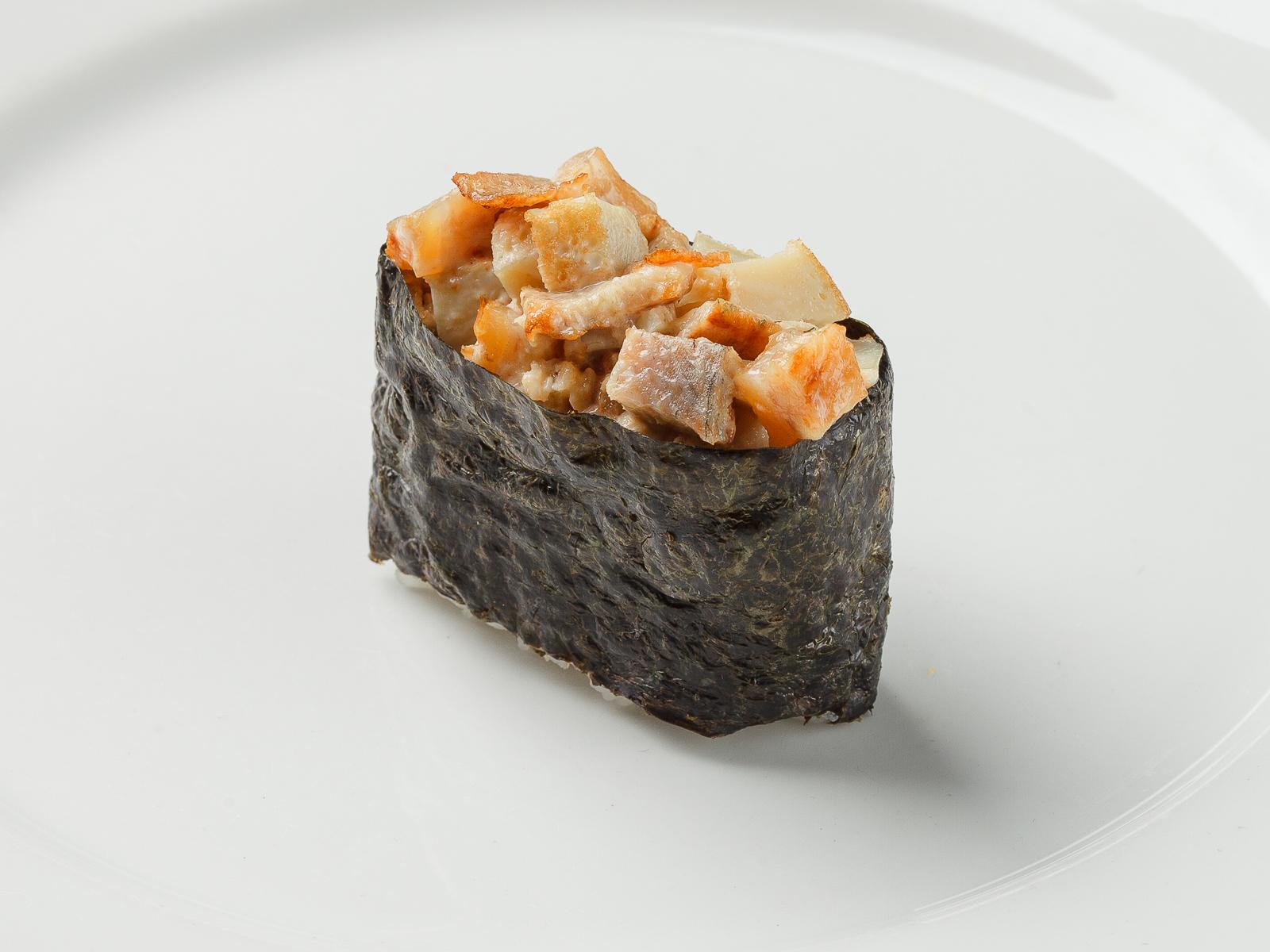 Суши Угорь с омлетом