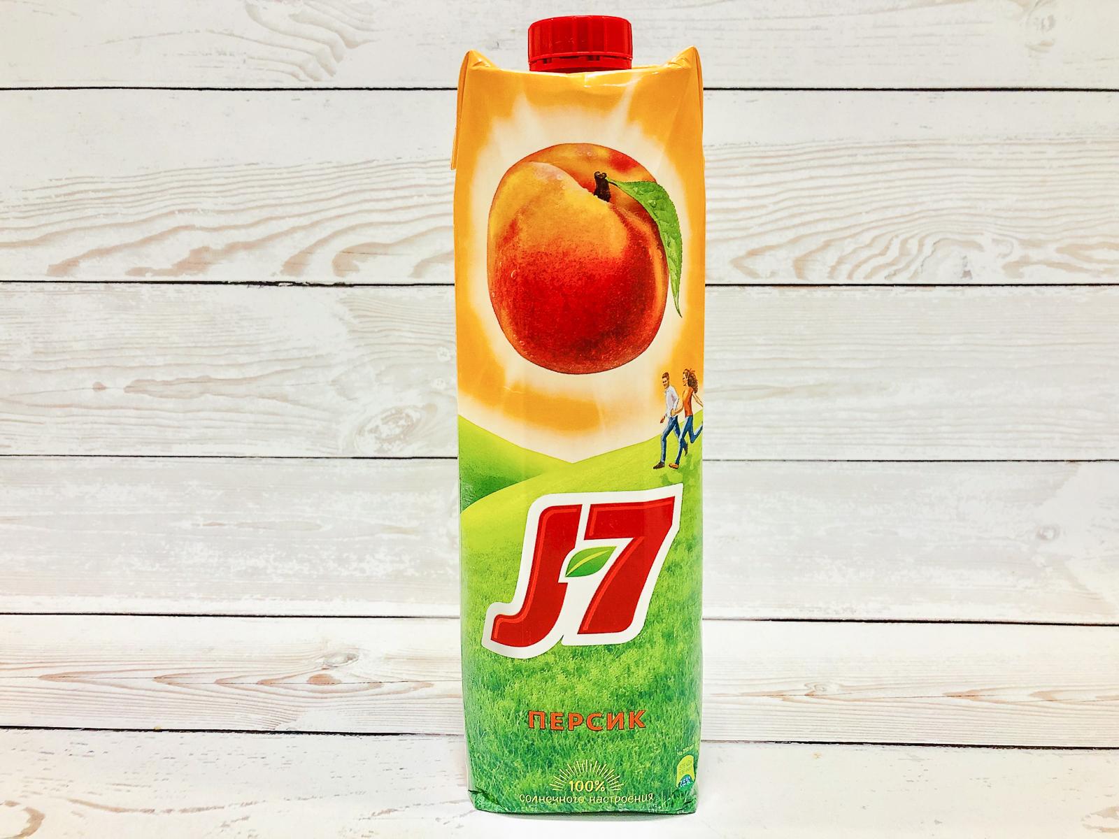Сок J7 Персиковый